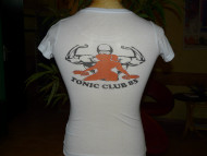 T-shirt du club fitness-muscu